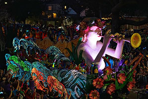Mardi Gras en Louisiane