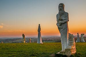 En Bretagne, une galerie d'art à ciel ouvert